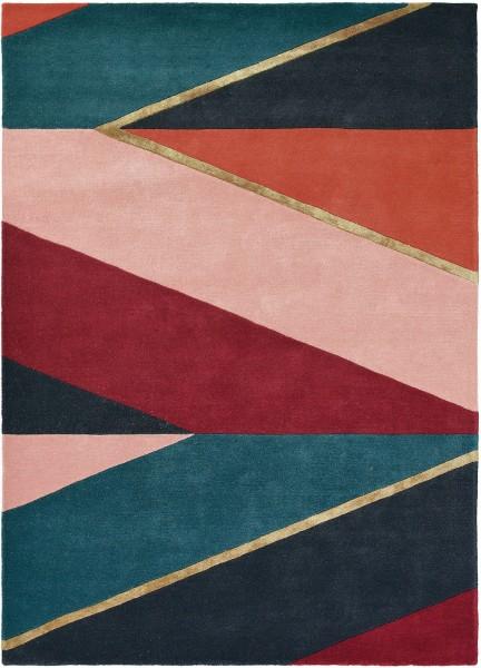 Teppich Ted Baker Sahara 56105 burgundy / multicolor