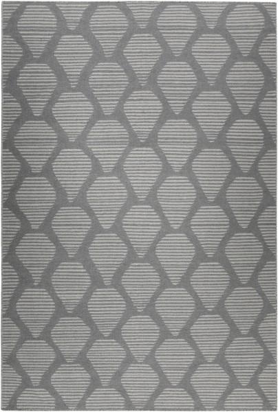 Kurzflor Designer Teppich Esprit Rainns Kelim ESP-6014-04 grau