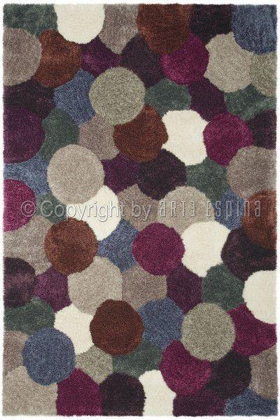 Teppich Arte Espina Dance Shaggy 8103-51 violett 120 x 180 cm