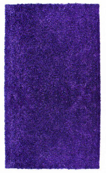 Hochflor Shaggy Teppich Schöner Wohnen Elegance 12 lila