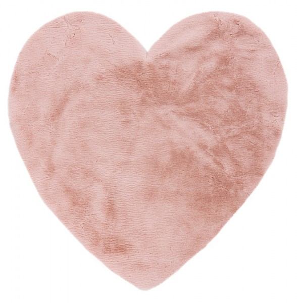 Kinder Teppich Obsession Luna Herz 859 powder pink / rosa