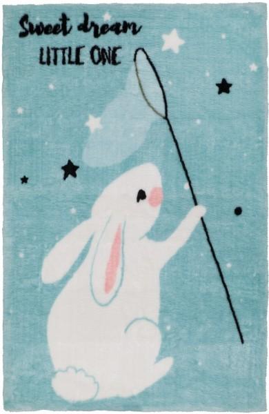 Kinder Teppich Obsession Lollipop Bunny 181 blau