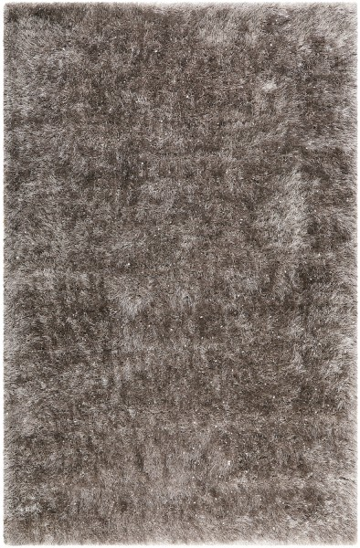 Hochflor Shaggy Teppich Wecon Home Shiny Touch WH-1411-095 grau