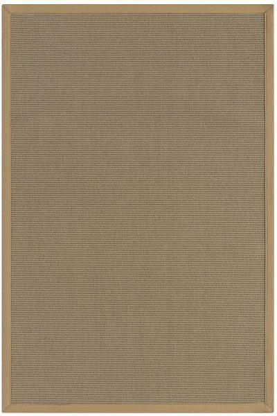 Wolle Teppich Astra Las Vegas grau / nerz 61