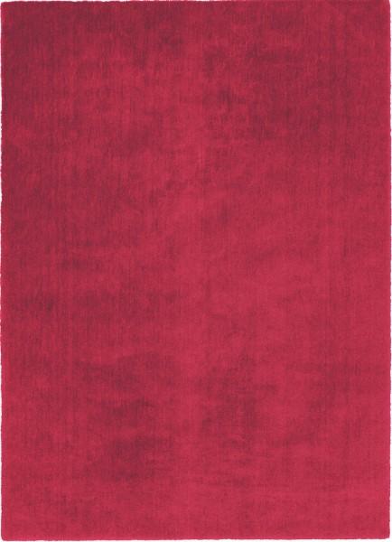 Kurzflor Designer Teppich Schöner Wohnen Victoria 6380 010 rot