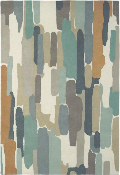 Kurzflor Designer Teppich Harlequin Trattino 44804 Sea-glass multicolor
