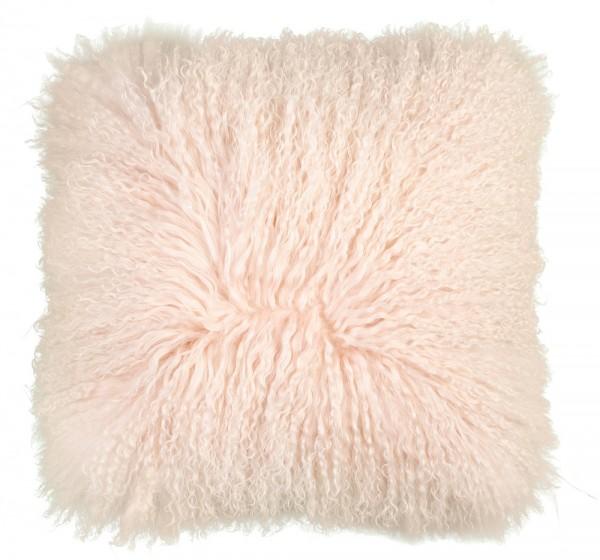Kissen Obsession Tibetan Sheep Cushion 260 powder pink / rosa