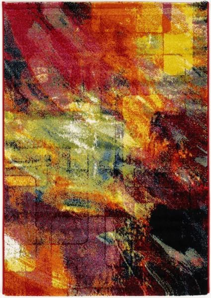 Kurzflor Designer Teppich Super Line Fun Abstract 598 multicolor