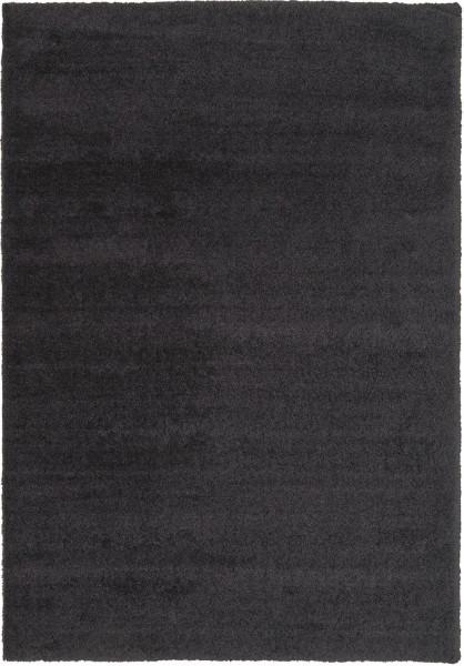 Hochflor Shaggy Teppich Astra Livorno 040 lava / schwarz