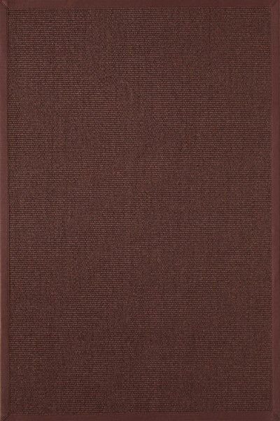 Sisal Teppich Astra Merida dunkelbraun 67