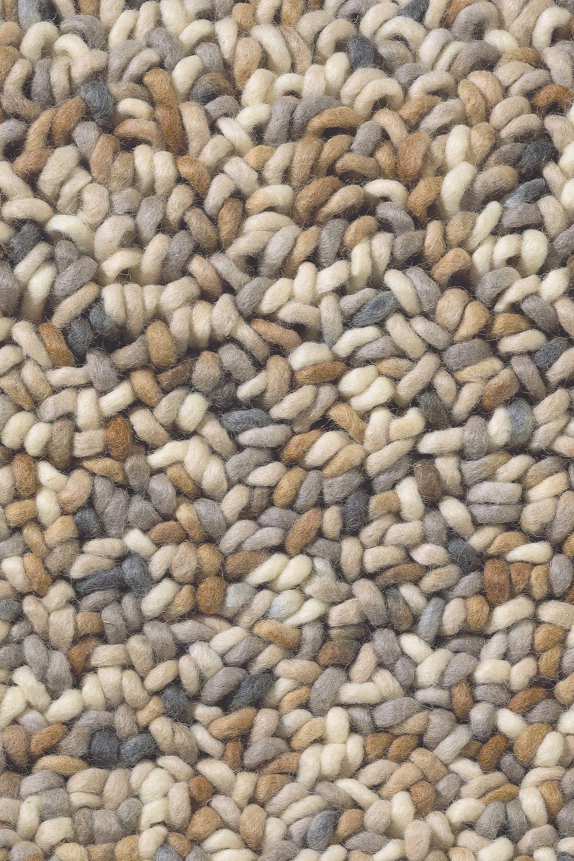 Teppich Brink Campman Stone 18801 Beige Grau Braun Raum Quadrat