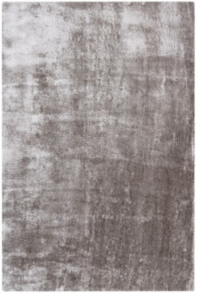 Hochflor Shaggy Teppich Obsession Glossy 795 silber