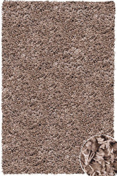 Hochflor Shaggy Teppich Twilight 7676 taupe