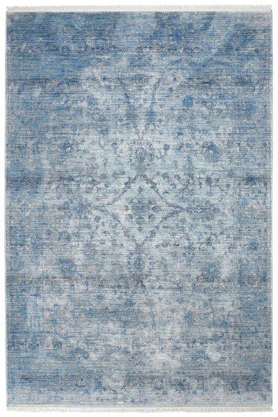 Teppich Obsession Laos 454 blau