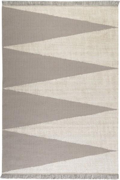 Teppich carpets&co Smart Triangle GO-0002-02 grau beige