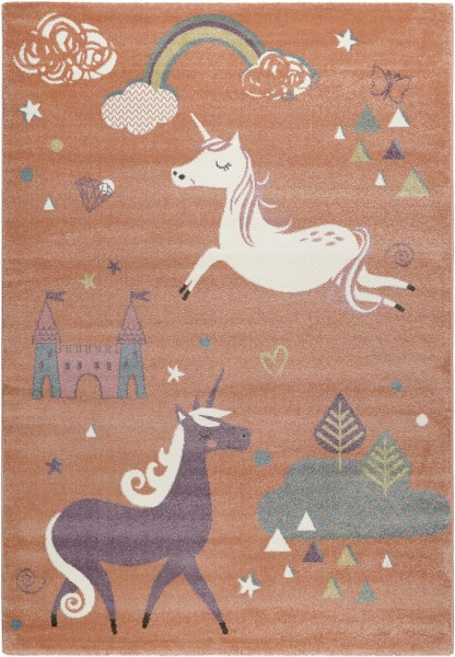Kinder Teppich Esprit Sunny Unicorn ESP-21974-020 orange