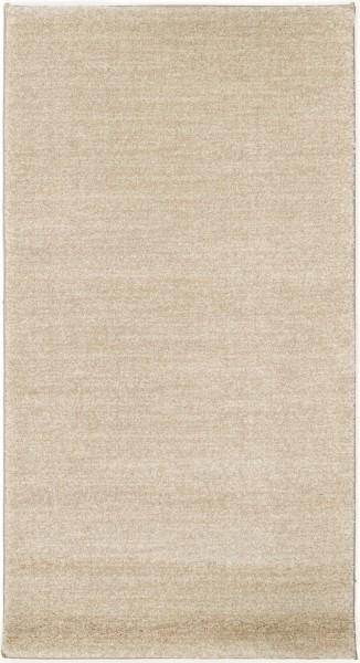 Kurzflor Designer Teppich Super Line Rouen Meliert 675 sand / beige