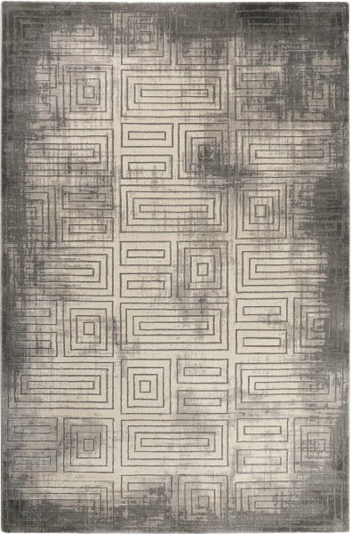 Kurzflor Designer Teppich Esprit Aiden ESP-6107-960 grau